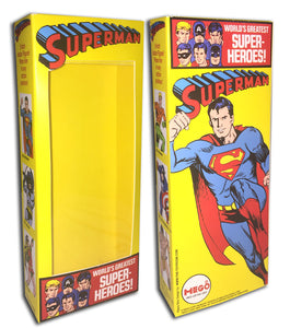 Mego WGSH Box: Superman