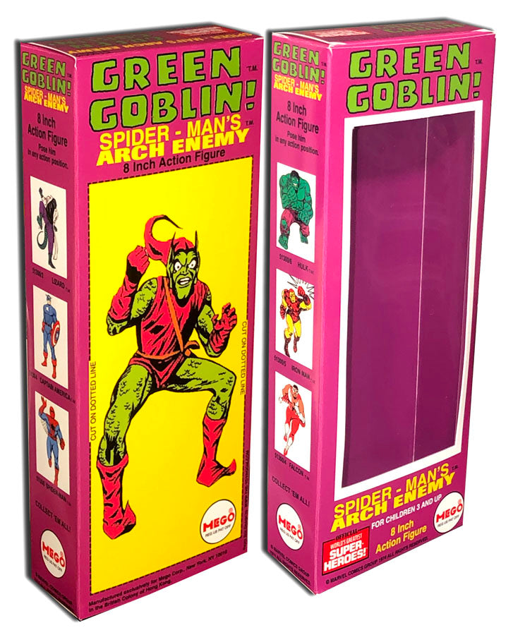 Mego WGSH Box: Green Goblin