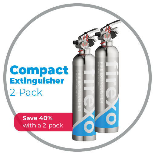 Compact Extinguisher 2-Pack