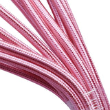 0,75 mm 2 Kern Round Vintage Geflochtene Shiny Pink Fabric Covered Light Flex - Shop für LED-Leuchten - Transformatoren - Lampenschirme - Halter | LEDSone DE