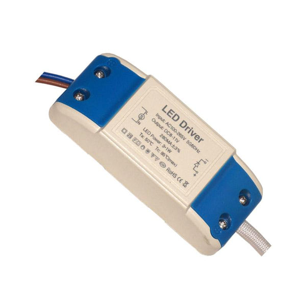 3W 280mAmp DC 8-11V Compact Constant Current LED driver - Shop for LED lights - Transformers - Lampshades - Holders | LEDSone UK