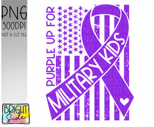 Purple up for military kids -Military child
