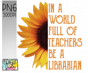 Be a librarian
