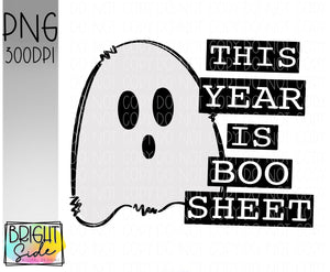 This year is boo sheet