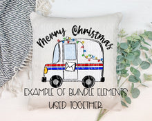 Load image into Gallery viewer, Holiday Mail Truck Bundle