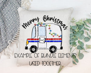 Holiday Mail Truck Bundle