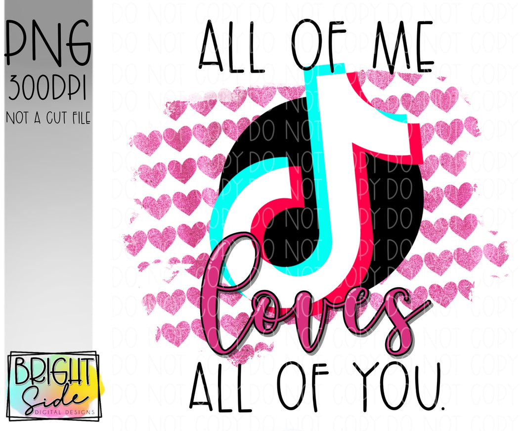 All of me loves all of you -TT app
