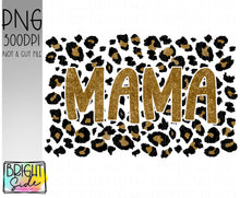 Load image into Gallery viewer, MAMA -gold leopard