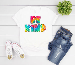 Be Kind tie dye