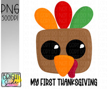 Load image into Gallery viewer, First thanksgiving