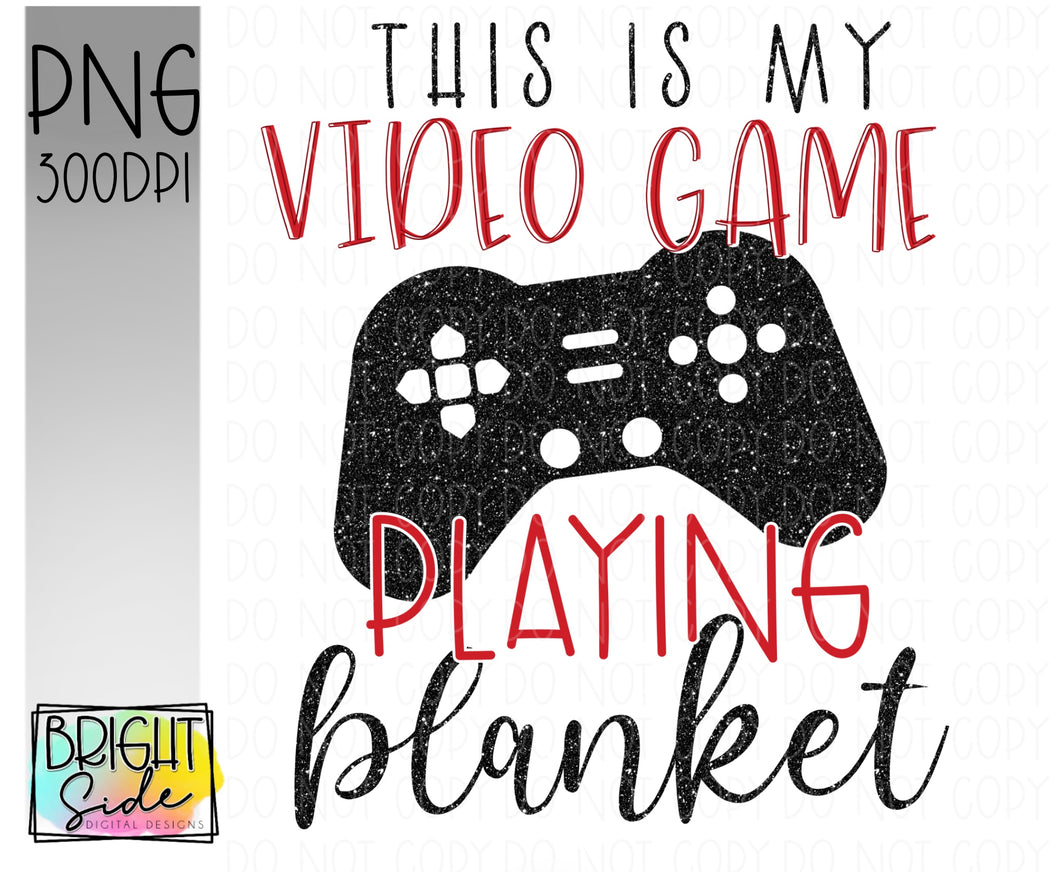 Video game blanket