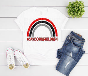 Save Our Children black & red (2)