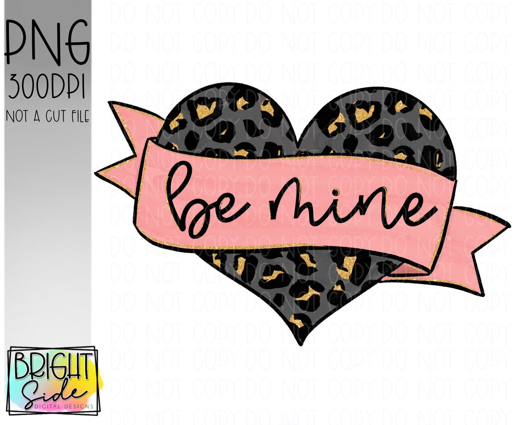 Be Mine -Gold leopard