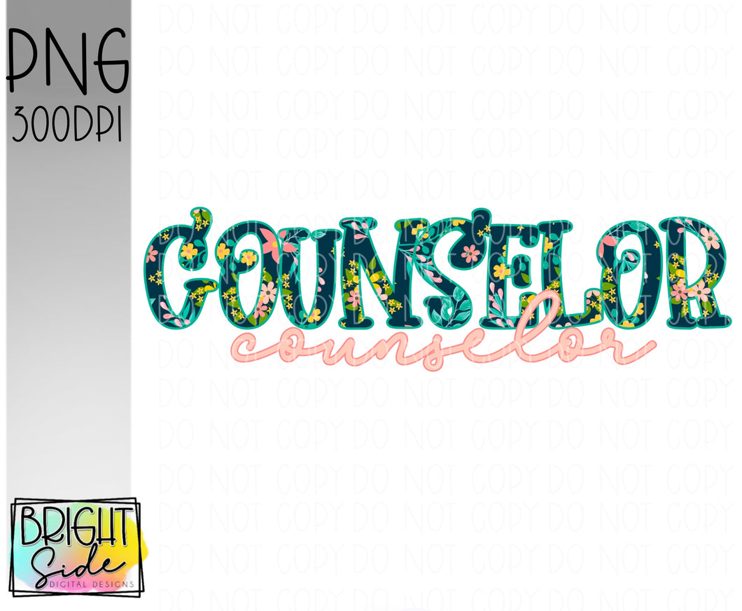 Counselor- Floral