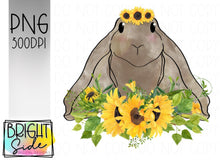 Load image into Gallery viewer, Sunflower bunny