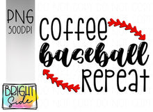 Load image into Gallery viewer, Coffee Baseball Repeat