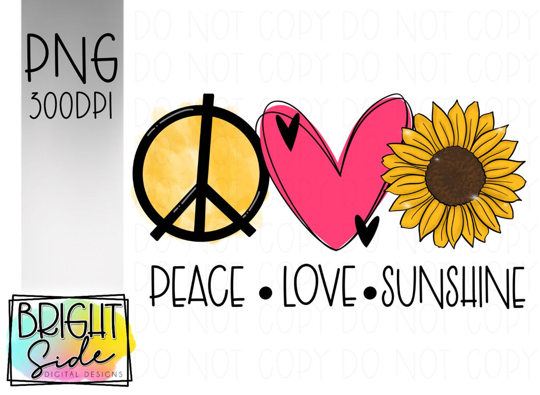 Peace Love Sunshine