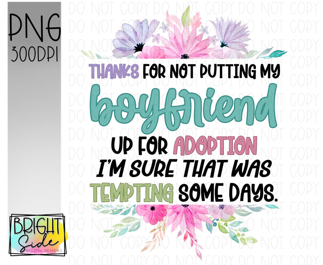 Boyfriend -adoption funny
