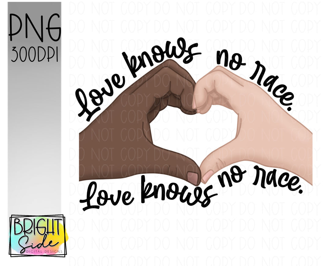 Love knows no race