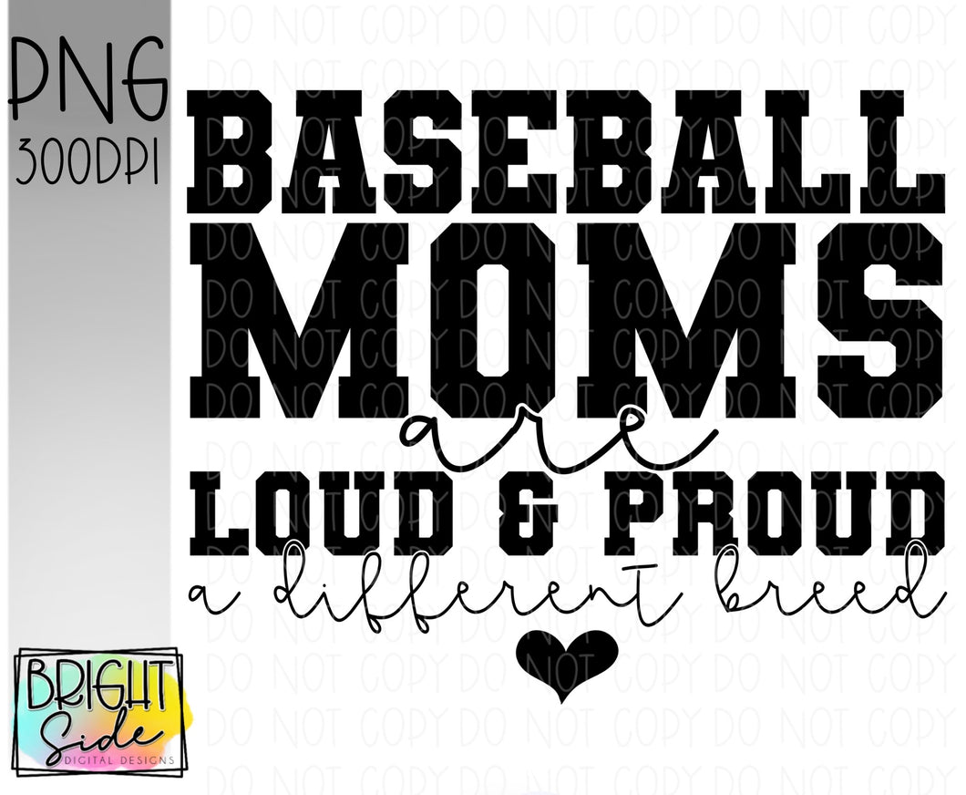 Baseball moms -a different breed
