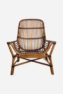 House Doctor: Lounge chair, Colony, Nature, Seat height: 30 cm