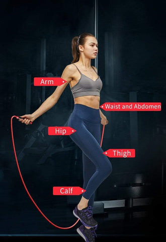 speed jump rope at home gym workout