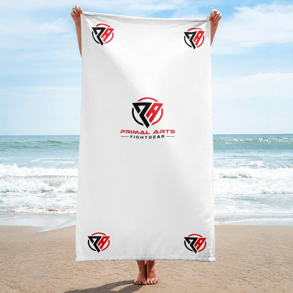 Best fightgear for mma, mixed martial arts, boxing, kickboxing and jiu jitsu. no gi bjj gear buy online Primal Beach Towel - Primal Arts Fightgear -