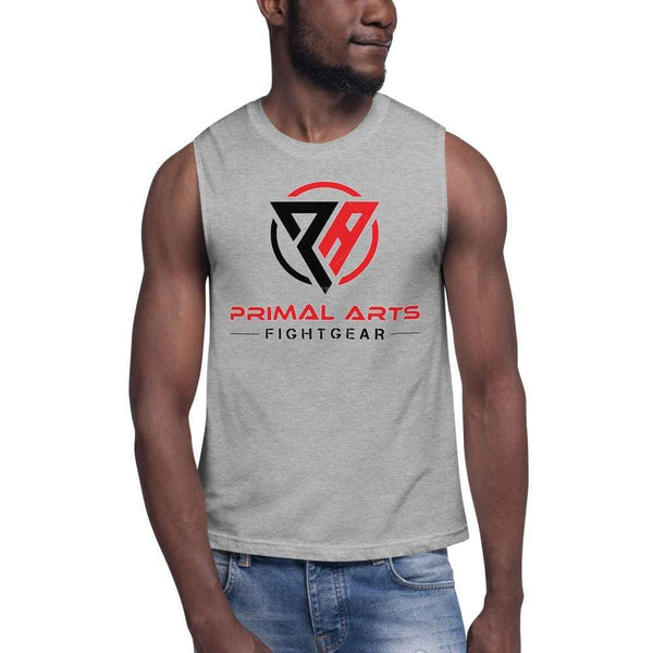 Best fightgear for mma, mixed martial arts, boxing, kickboxing and jiu jitsu. no gi bjj gear buy online Primal Muscle Shirt - Primal Arts Fightgear -