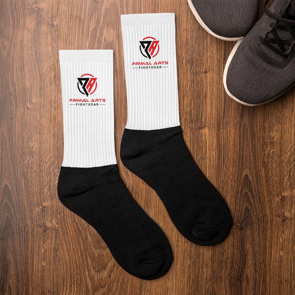 Best fightgear for mma, mixed martial arts, boxing, kickboxing and jiu jitsu. no gi bjj gear buy online Primal Socks - Primal Arts Fightgear -