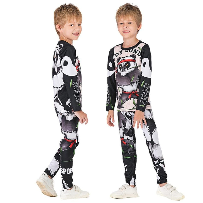 Best fightgear for mma, mixed martial arts, boxing, kickboxing and jiu jitsu. no gi bjj gear buy online Angry Little Panda - Primal Arts Fightgear -