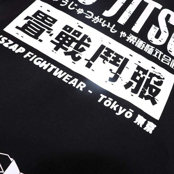 Best fightgear for mma, mixed martial arts, boxing, kickboxing and jiu jitsu. no gi bjj gear buy online BJJ Japanese Origin T-shirt - Primal Arts Fightgear -