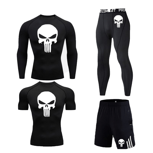 Best fightgear for mma, mixed martial arts, boxing, kickboxing and jiu jitsu. no gi bjj gear buy online Customize Your Skull - Primal Arts Fightgear - Black / S (160-170cm) / (55-65kg) / 4-piece