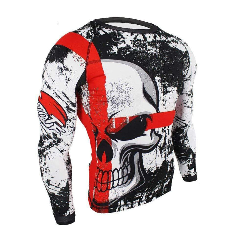 Best fightgear for mma, mixed martial arts, boxing, kickboxing and jiu jitsu. no gi bjj gear buy online Cross Skull Set Long - Primal Arts Fightgear -