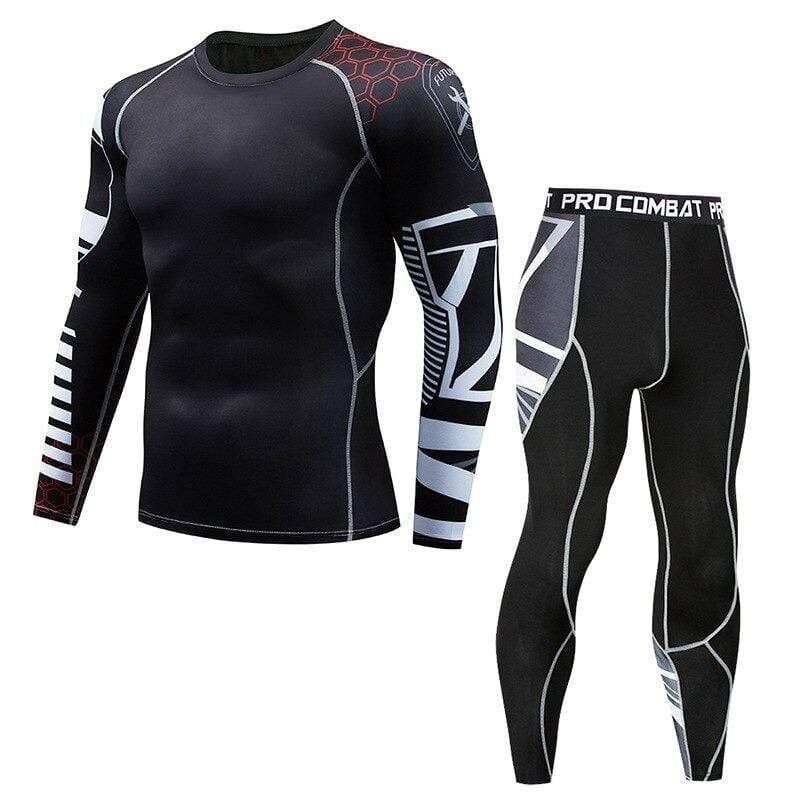 Best fightgear for mma, mixed martial arts, boxing, kickboxing and jiu jitsu. no gi bjj gear buy online Fighting DNA Black - Primal Arts Fightgear -