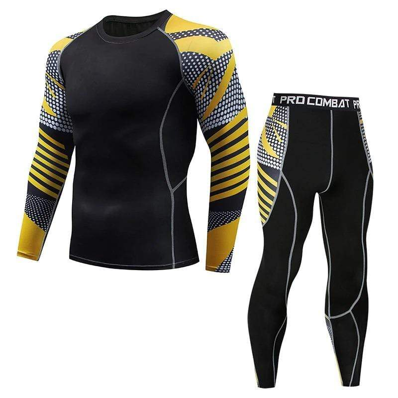 Best fightgear for mma, mixed martial arts, boxing, kickboxing and jiu jitsu. no gi bjj gear buy online Golden Future Black Set - Primal Arts Fightgear -