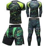 Best fightgear for mma, mixed martial arts, boxing, kickboxing and jiu jitsu. no gi bjj gear buy online Green Rattlesnake Set Complete - Primal Arts Fightgear -