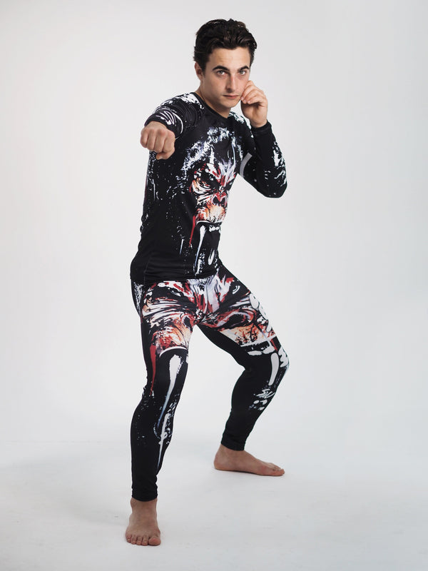 Best fightgear for mma, mixed martial arts, boxing, kickboxing and jiu jitsu. no gi bjj gear buy online Killer Primate - Primal Arts Fightgear -
