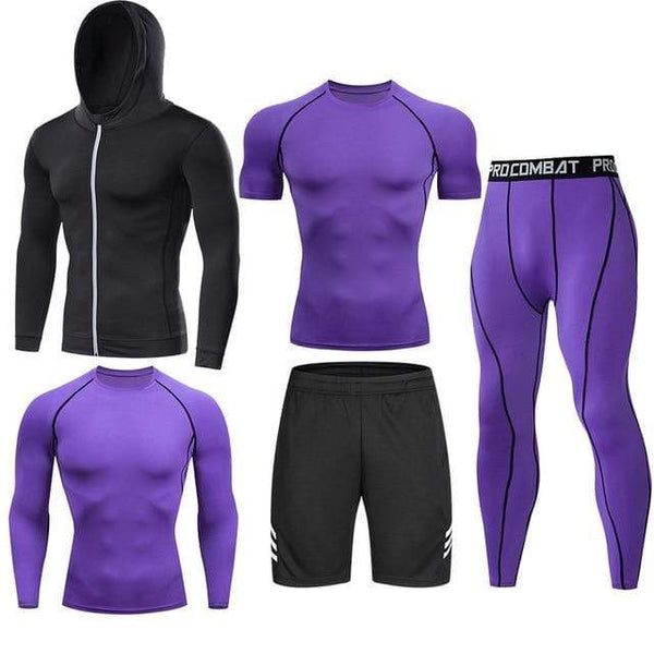 Best fightgear for mma, mixed martial arts, boxing, kickboxing and jiu jitsu. no gi bjj gear buy online Purple Complete - Primal Arts Fightgear - XXL (185-200cm) / (90-105kg)