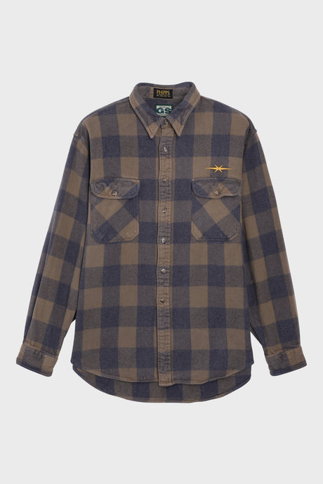 Brown Plaid Shirt