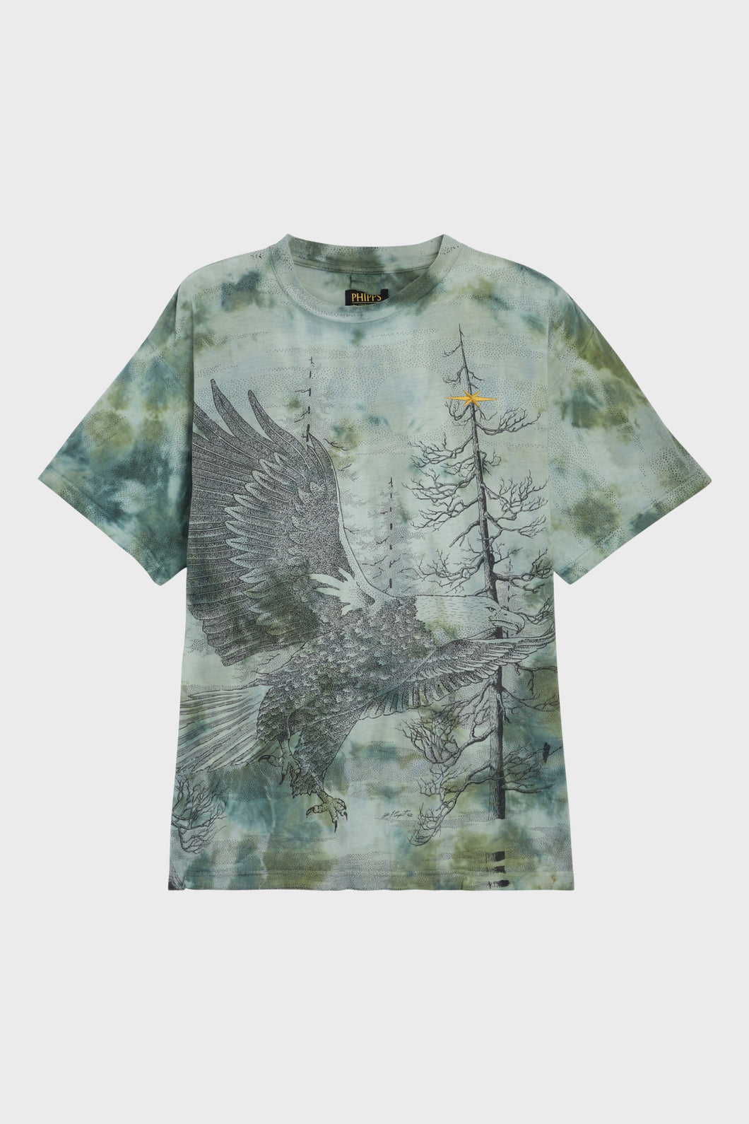 Bald Eagle Hand-Dyed T-Shirt