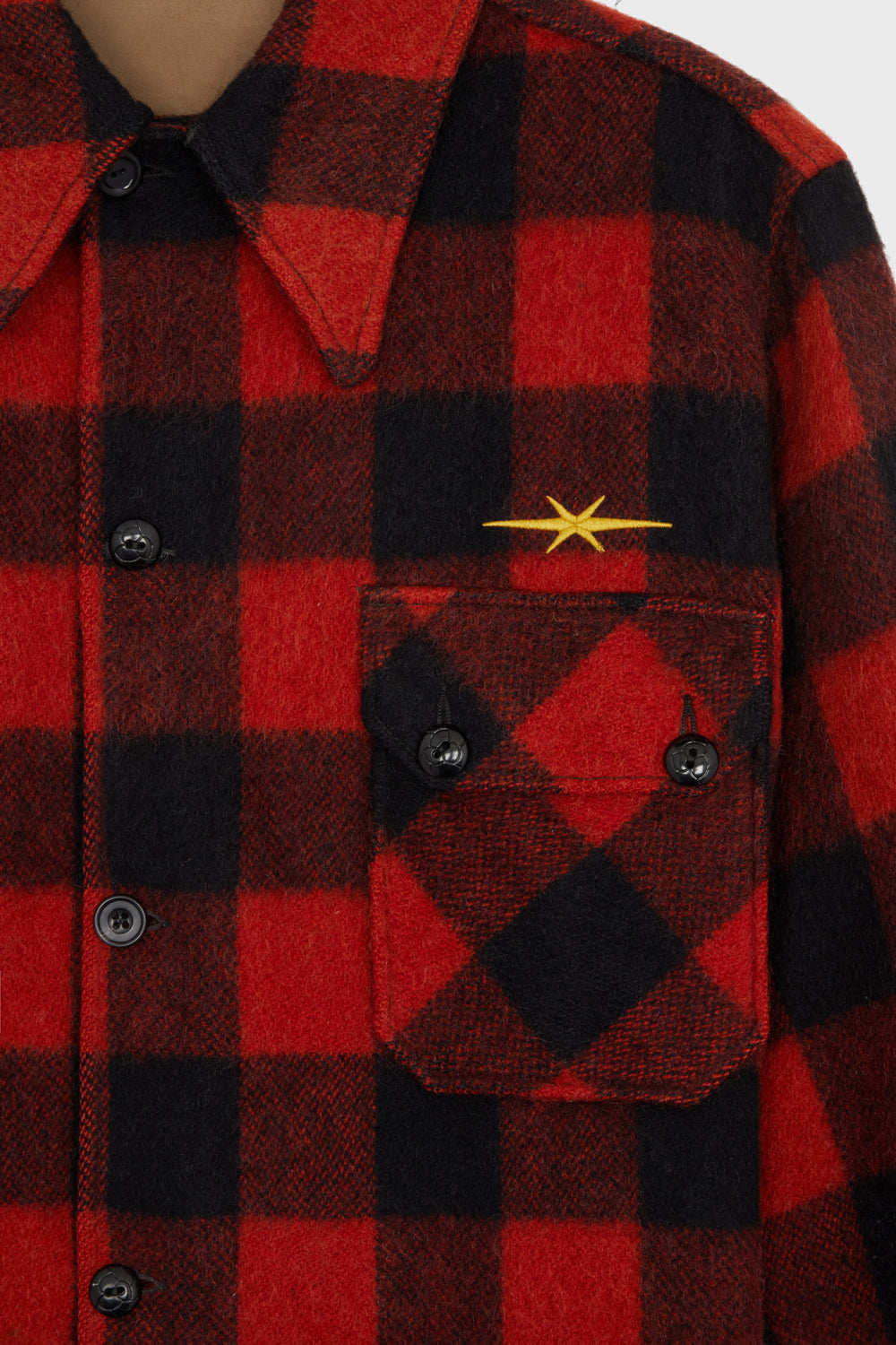 product-color-Checked Overshirt