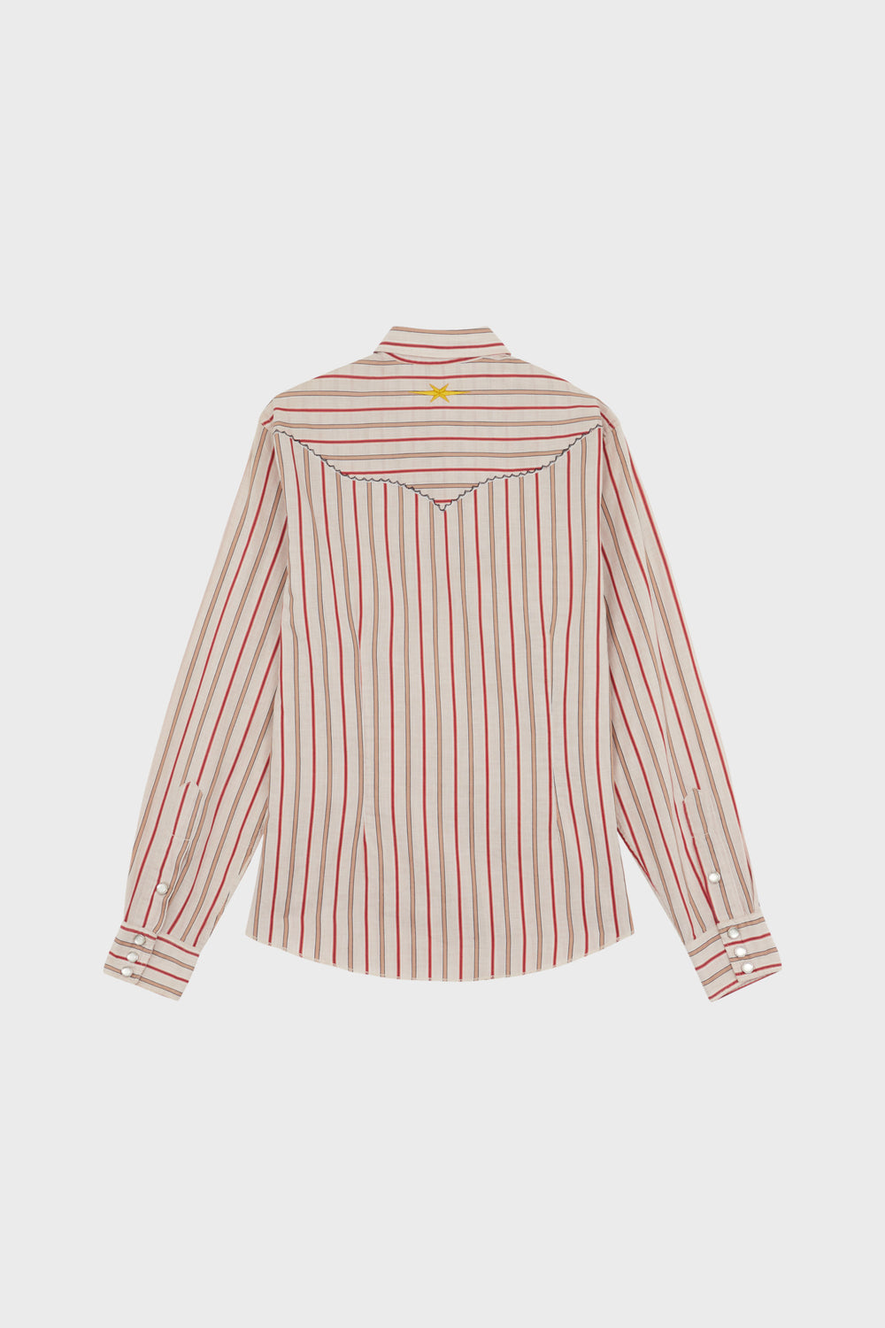 product-color-Western Striped Shirt