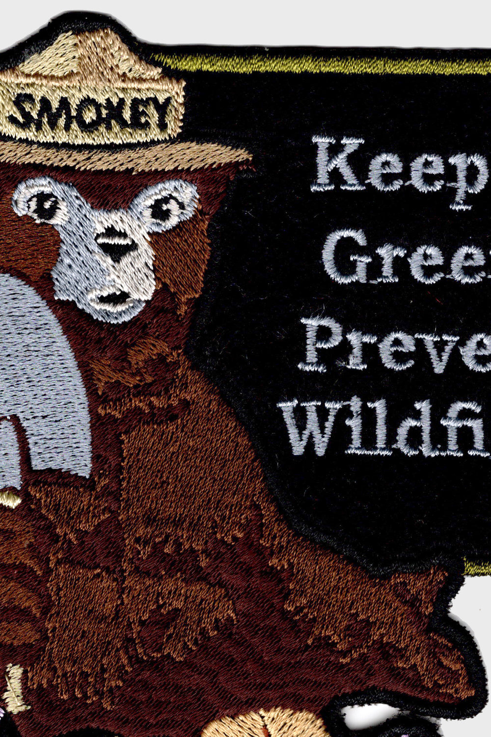 product-color-Smokey Bear Patch