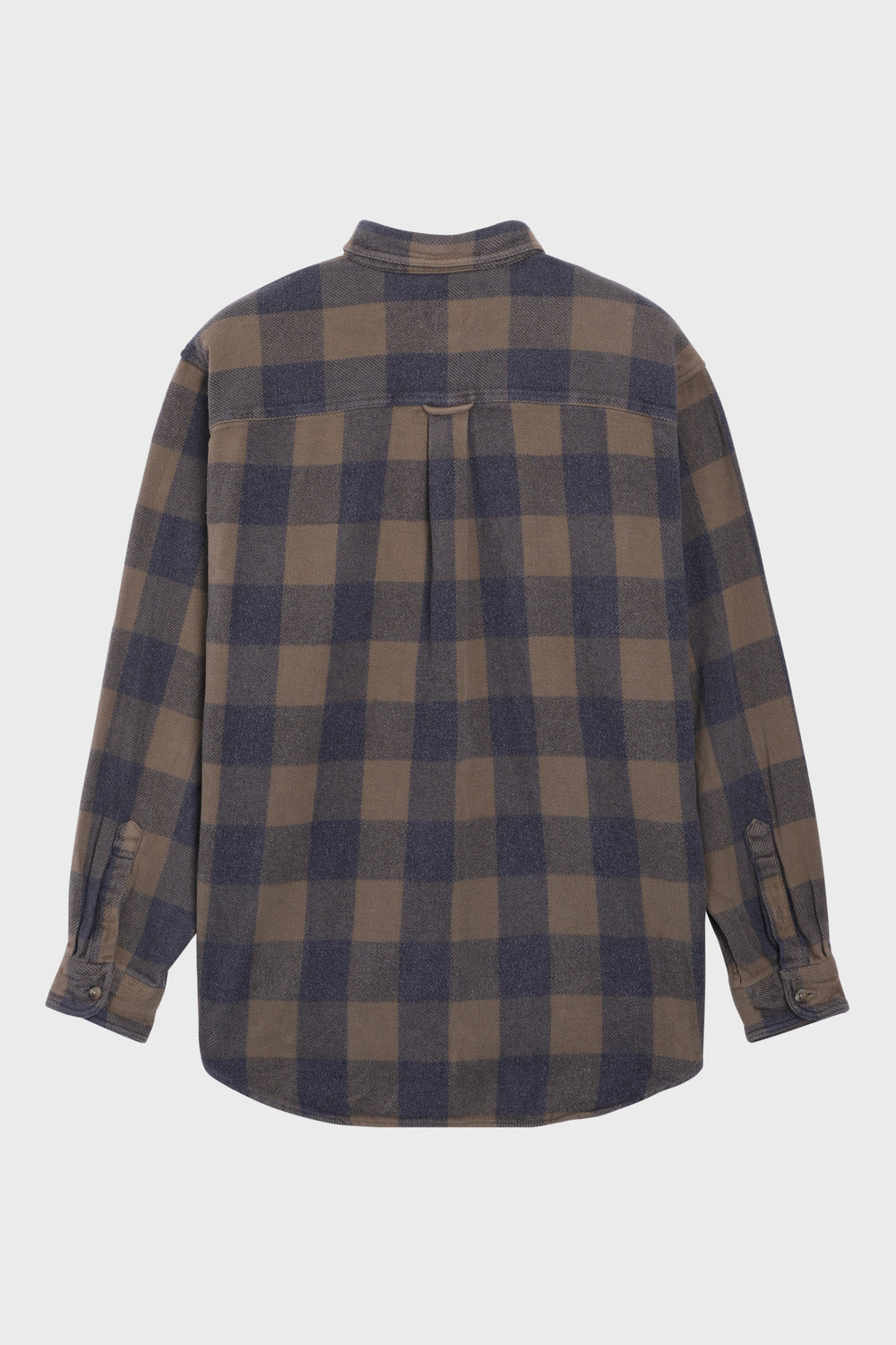 product-color-Brown Plaid Shirt