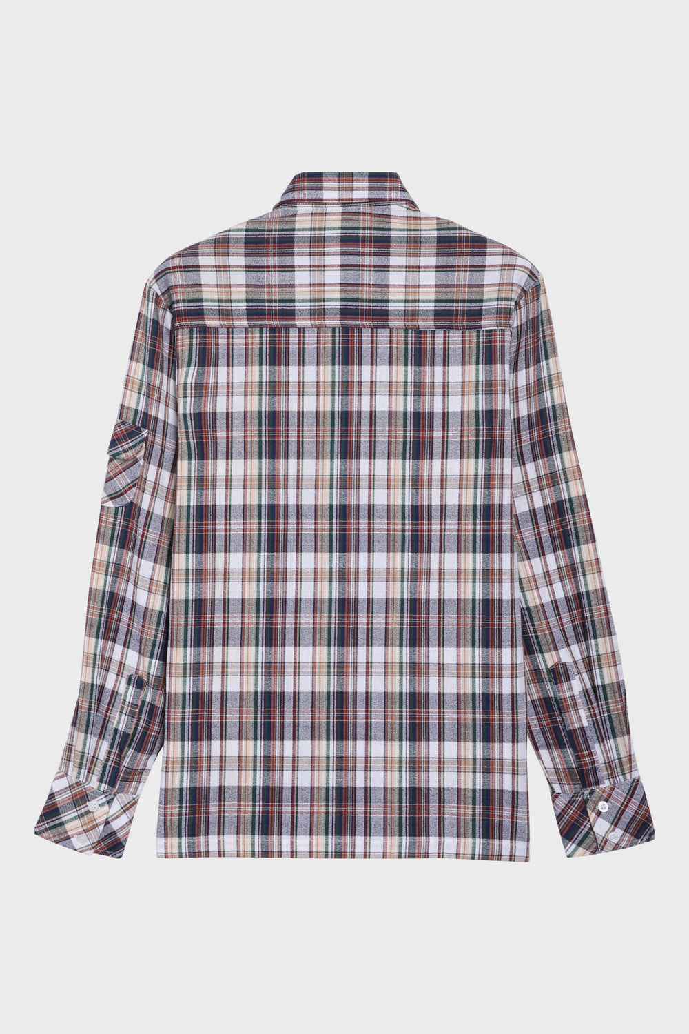 product-color-Multicolor Plaid Shirt
