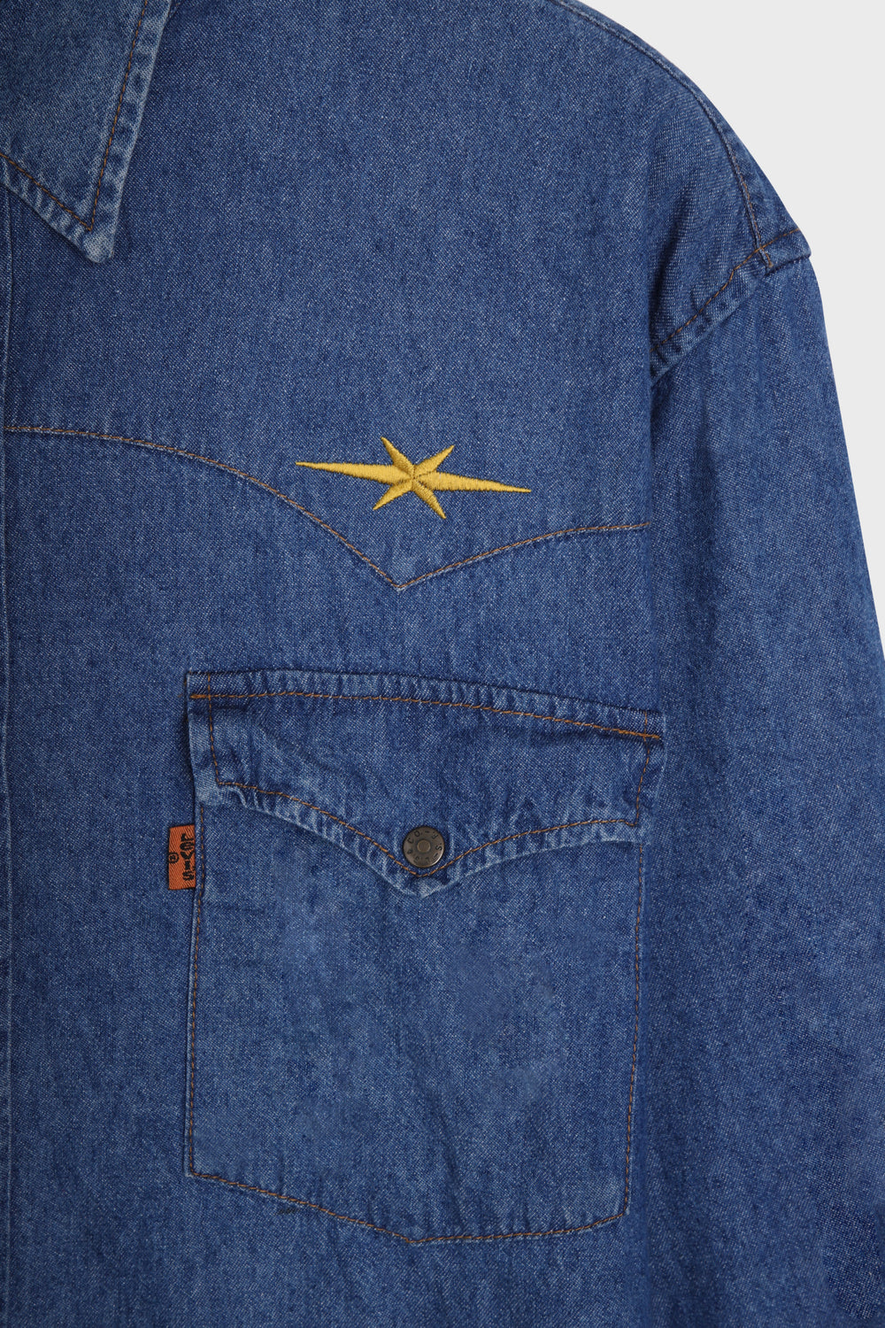 product-color-Western Denim Shirt