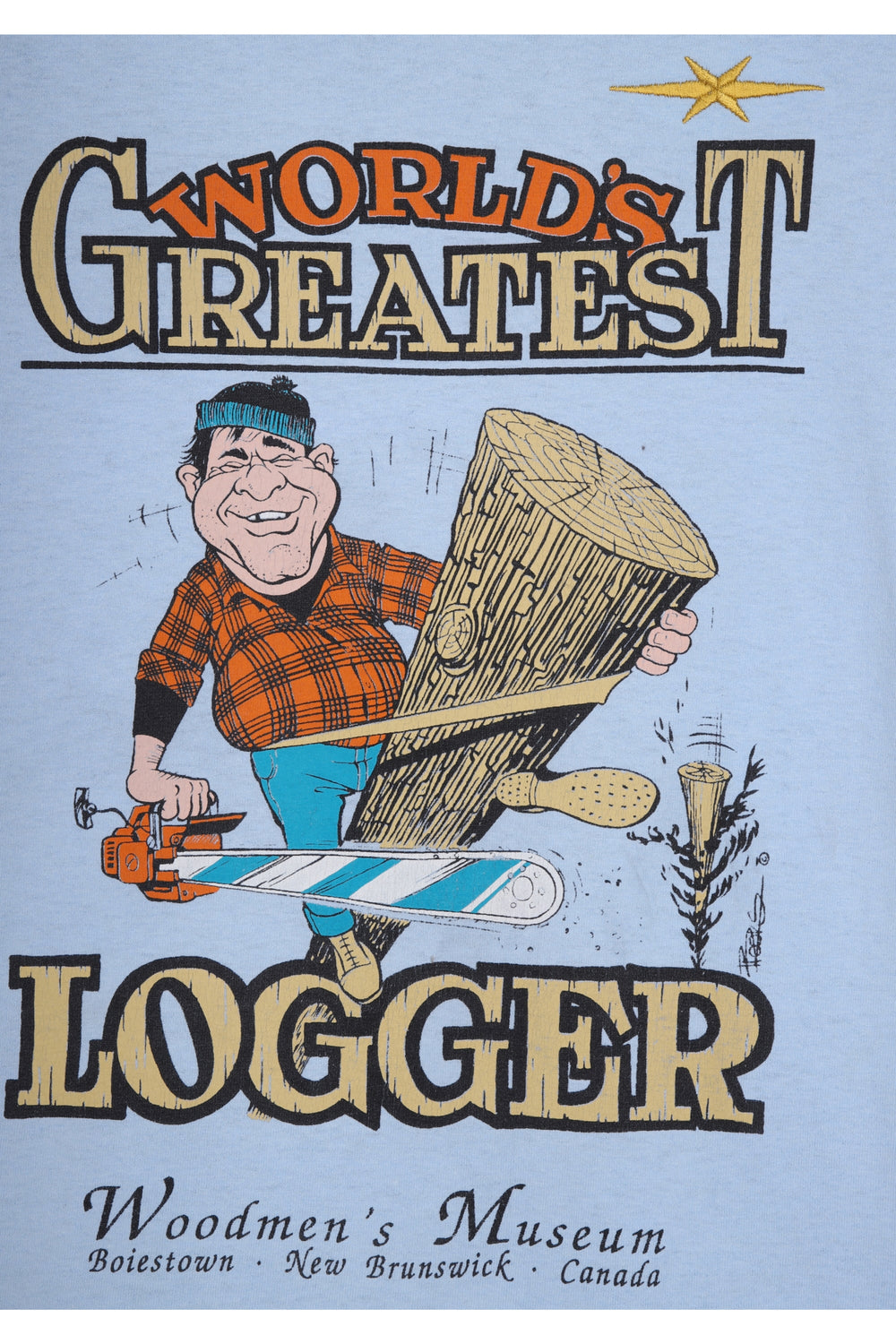 product-color-World's Greatest Logger T-Shirt