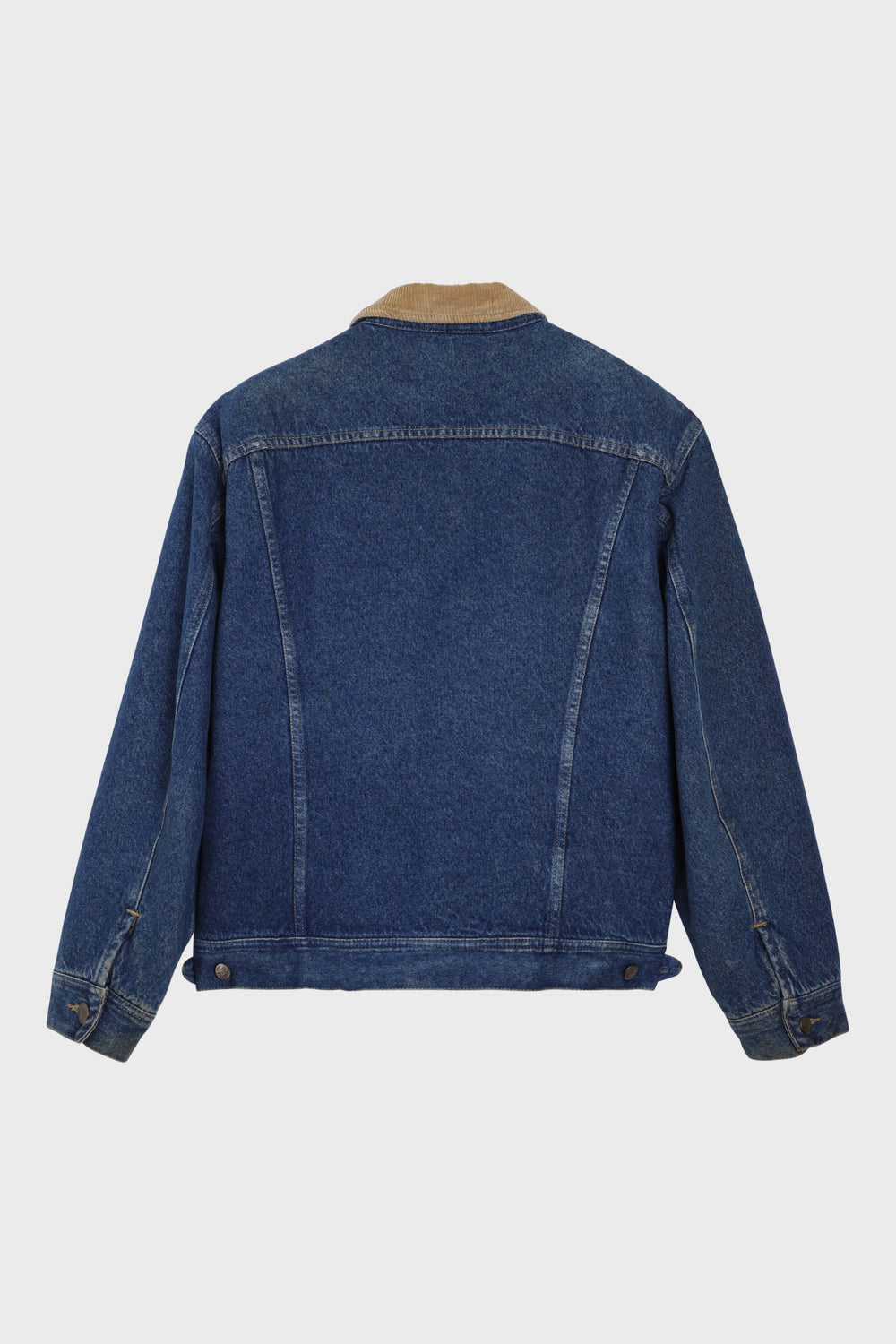 product-color-Lined Denim Jacket
