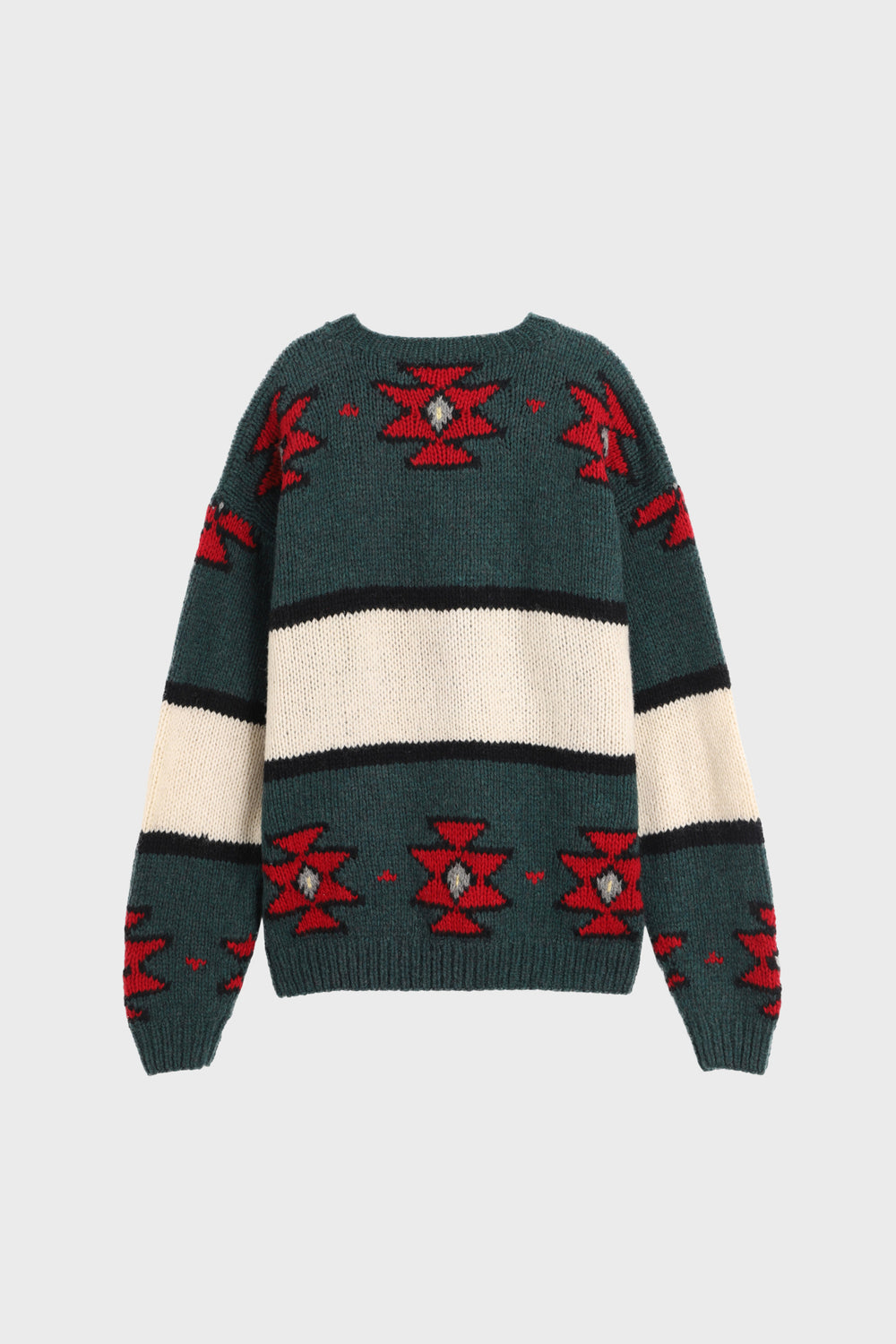product-color-Aztec Canoe Crewneck Sweater