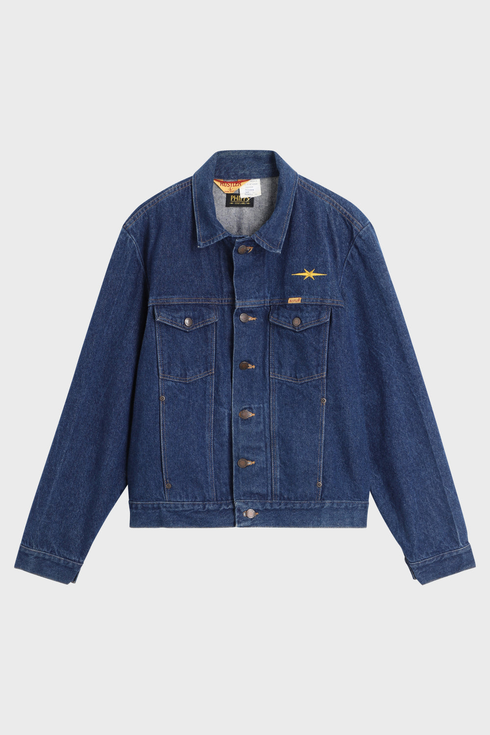 product-color-Denim Trucker Jacket
